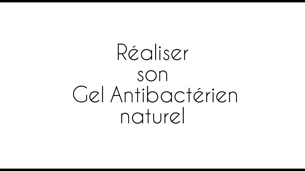 Réalisez votre gel antibactérien naturel pour les mains en moins de 5 minutes !