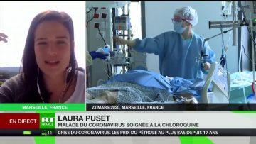 Traitement chloroquine : témoignage Laura Puset atteinte du Covid-19 traitée à la chloroquine