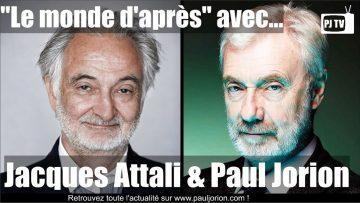 """PJ TV : """"Le monde d'après…"""" – Invité Jacques Attali"""