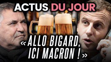 Bigard a convaincu Macron de rouvrir les bars, polémique Camélia Jordana… Les actus du jour