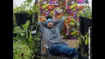 Ce jardinier fait une ferme eco-responsable au pôle Nord