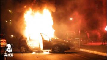 Deuxième nuit d'émeute à la ZUP d'Argenteuil