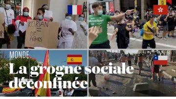 Le coronavirus exacerbe les tensions sociales aux quatre coins du monde