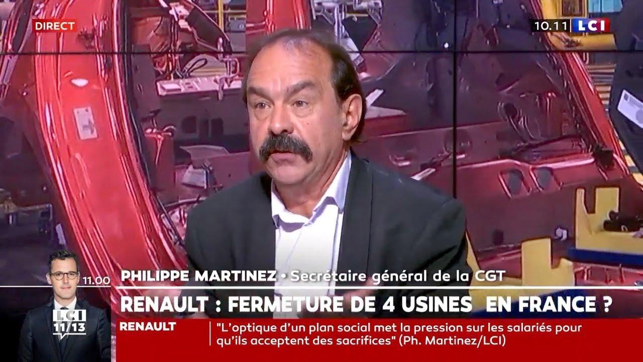 Renault – Excellent entretien avec Philippe Martinez (CGT), et Christian Saint-Étienne, économiste