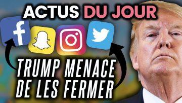 Twitter signale Trump, hydroxychloroquine interdite, fusée historique… Les actus du jour