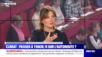 150 propositions – Itw d'Amandine Roggeman, membre de la Convention Citoyenne pour le Climat