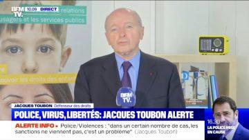 Itw de Jacques Toubon, Défenseur des droits, qui présente son dernier rapport