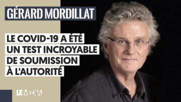 LE COVID-19 A ÉTÉ UN TEST INCROYABLE DE SOUMISSION À L'AUTORITÉ