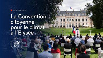 Les 150 citoyens de la Convention citoyenne pour le climat sont reçus à l'Élysée (intégral)