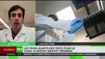 Les tests pour le Covid-19 bientôt périmés ? L'avis de Lionel Barrand