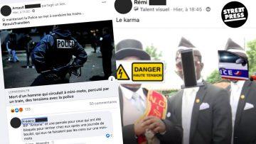 On a infiltré un groupe Facebook où des milliers de policiers s'échangent des messages racistes