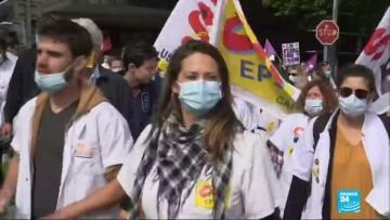 """""""On ne lâchera rien !"""" : les soignants manifestent dans toute la France"""