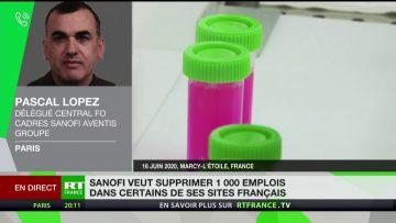 Plan social à Sanofi : «Tous les métiers sont touchés», rappelle Pascal Lopez