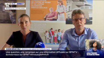 Bretagne/COVID-19: point presse d'Anne Briac Bili (ARS) et Bertrand Gagnière (Santé Publique France)