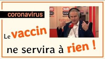 Christian Perronne & Violaine Guérin dénoncent la peur la précipitation pour le vaccin anti COVID-19