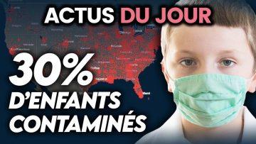 Contamination importante d'enfants, montée du virus en France, bonne nouvelle… Actus du jour