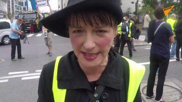 Des Gilets jaunes de nouveau dans les rues de Paris pour dénoncer la désignation de Jean Castex