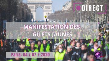 EN DIRECT – Manifestation des Gilets jaunes chez Balkany