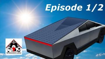 Le Tesla Cybertruck carburera au soleil … ou pas ?