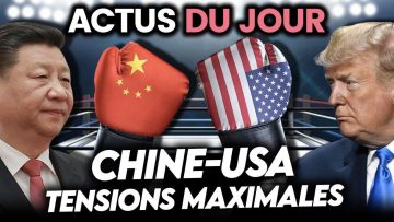 Masques gratuits, tensions maximales USA/Chine, bonne nouvelle… Actus du jour