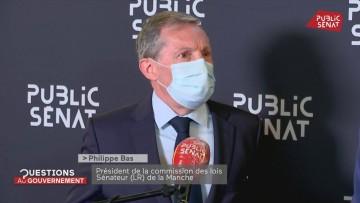 Philippe Bas : « Nous attendons des réponses d'Eric Dupond-Moretti »