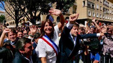Reportage sur l'élection de Michèle Rubirola (Printemps Marseillais) comme Maire de Marseille