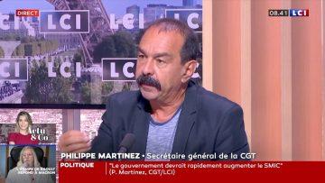 Très bonne itw de Philippe Martinez, Secrétaire général de la CGT