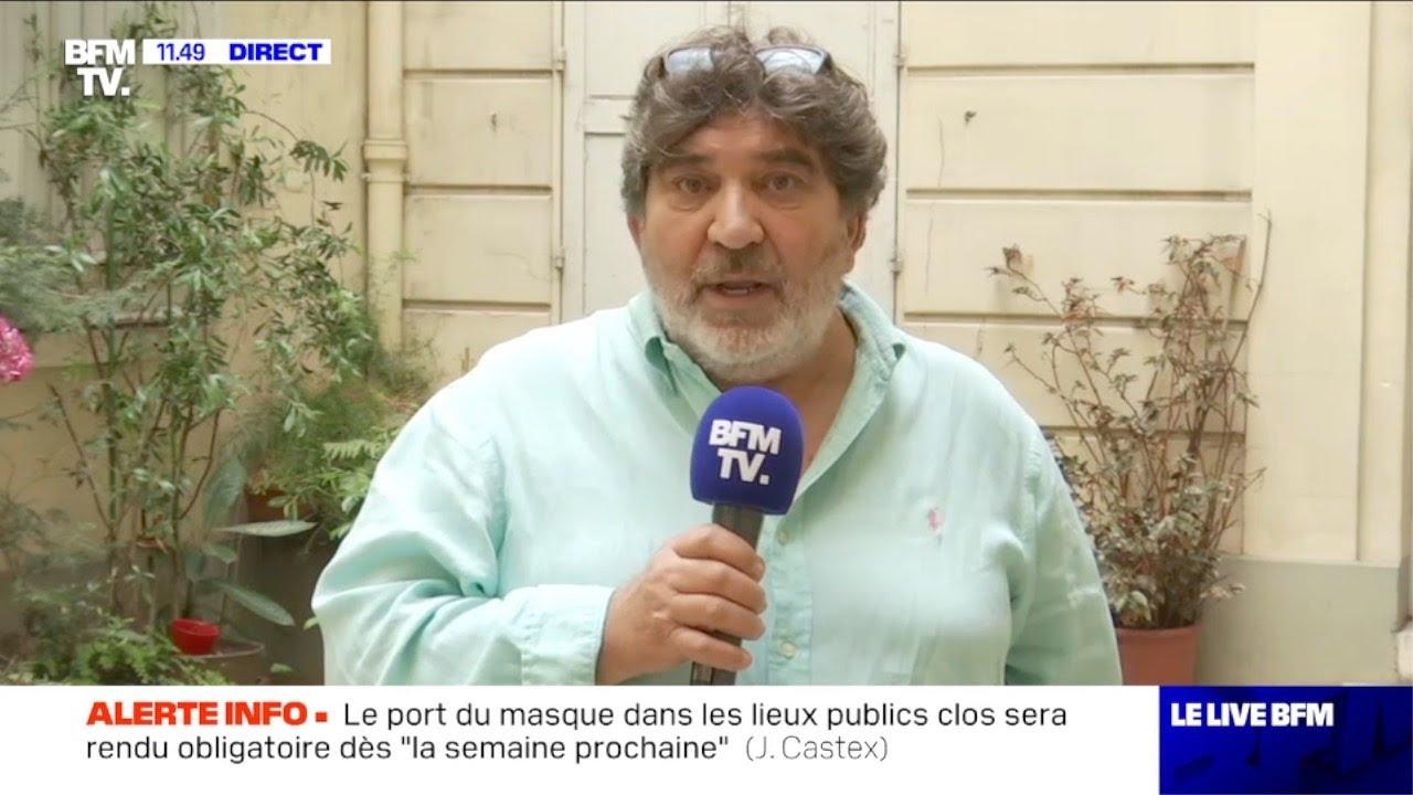 Trois policiers mis en examen sur quatre: interview du père de Cédric Chouviat, Christian Chouviat