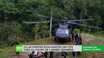 212 activistes écologistes ont été tués en 2019, un record selon l'ONG Global Witness