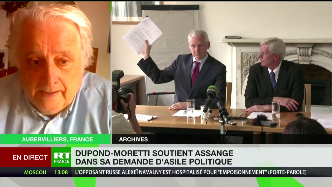 Affaire Assange : «Si la France lui accorde l'asile, l'Angleterre est obligée de lui remettre»