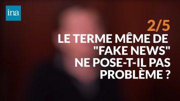 Dominique Cardon : Fake news : perceptions et réalité ?