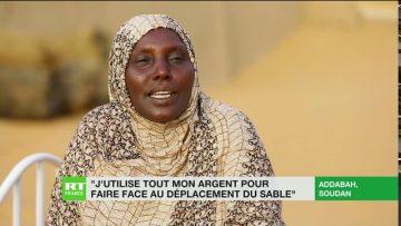 La progression du désert inquiète les Soudanais