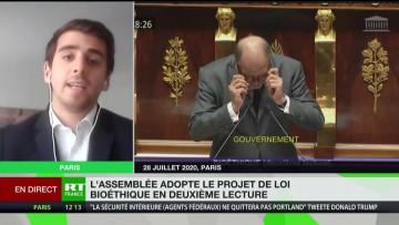 Loi bioéthique : «Le sentiment d'un débat confisqué aux Français» estime Rémi Tell