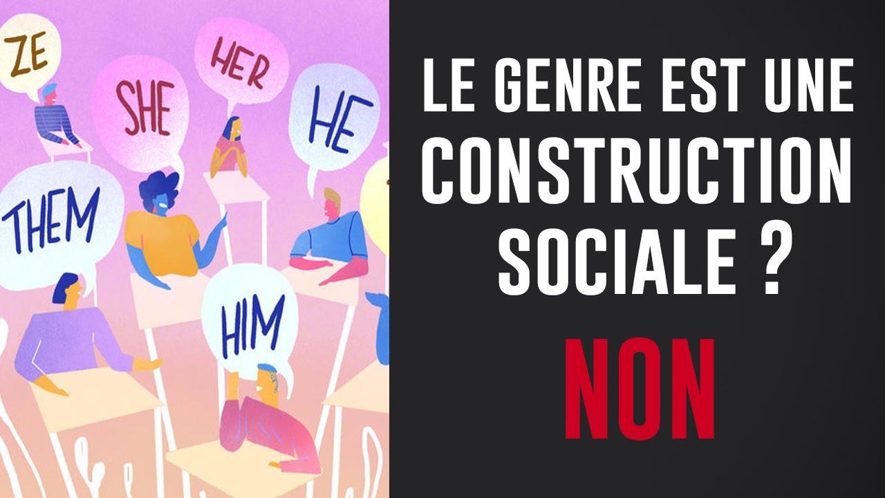 NON, le genre N'EST PAS une construction sociale…