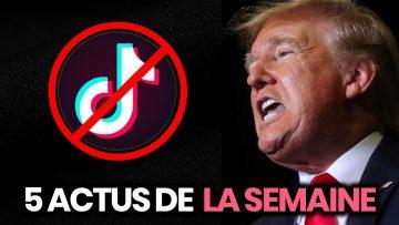 Trump interdit TikTok, enquête sur un youtubeur, Sibérie… 5 actus de la semaine