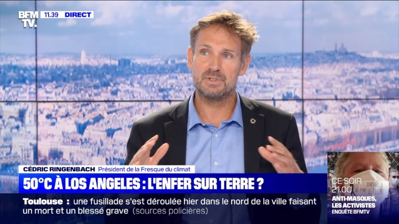 50°C à Los Angeles: excellentes explications de Cédric Ringenbach sur le changement climatique