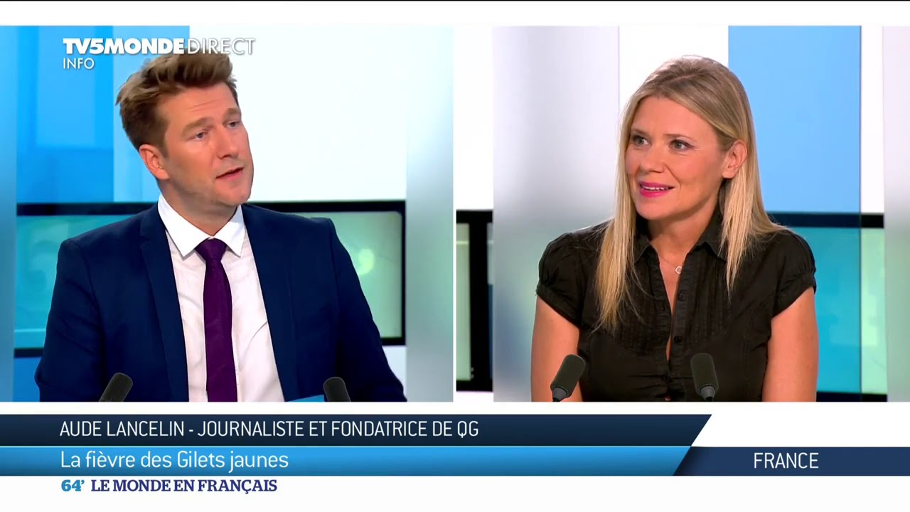 """Aude Lancelin : """"donner une autre image des Gilets Jaunes"""""""
