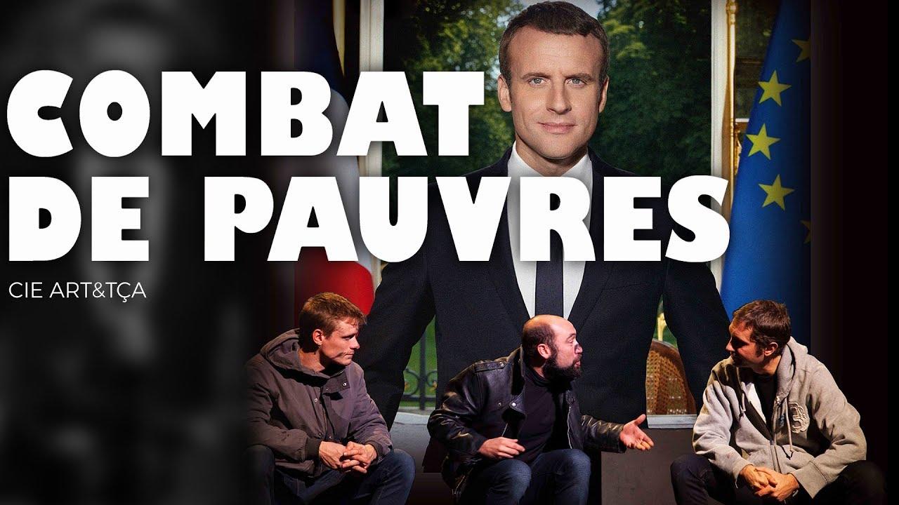COMBAT DE PAUVRES