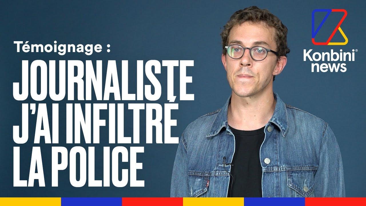 """Dans la police, on ne balance pas"" : Valentin Gendrot raconte son infiltration"