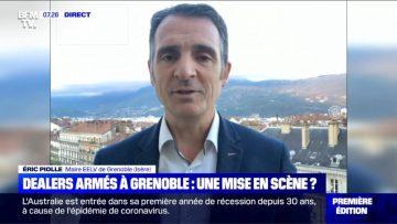 Dealers armés à Grenoble: une mise en scène? Itw d'Éric Piolle, maire EELV de Grenoble