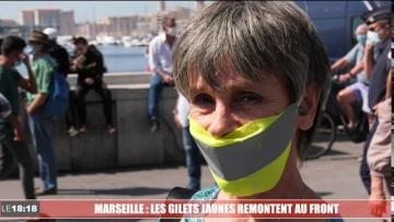 Marseille : les gilets jaunes d'expriment sur leur retour dans la rue
