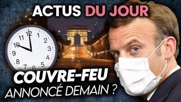 Couvre-feu possible en France, Veolia, Trump reprend la campagne… Actus du jour