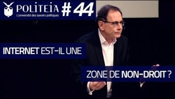 Internet est-il une zone de non-droit ? | Dominique Boullier