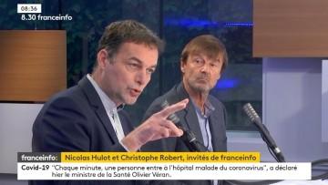 Itw de Christophe Robert/Fondation Abbé Pierre, Nicolas Hulot: couvre-feu/RSA-APL/néonicotinoïdes/5G