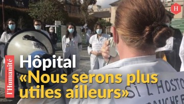 Le cri d'alarme des personnels soignants de l'hôpital Saint-Louis