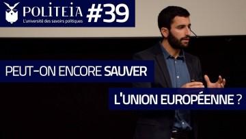 Peut-on encore sauver l'Europe ?   Simon Persico