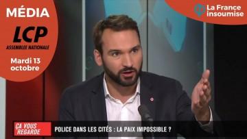 POLICE DANS LES CITÉS : LA PAIX IMPOSSIBLE