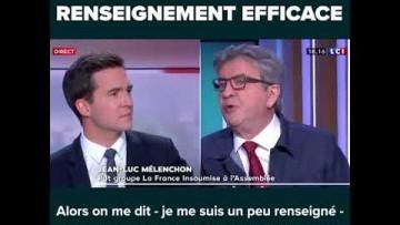 TERRORISME : Jean-Luc Mélenchon s'exprime sur LCI