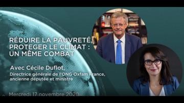 Cécile Duflot – Réduire la pauvreté, protéger le climat : un même combat