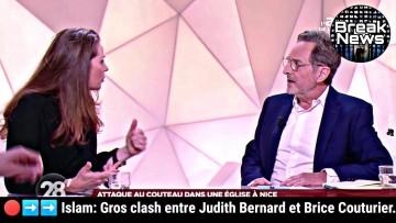 Clash entre Judith Bernard et Brice Couturier